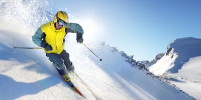 Wellness und Skifahren